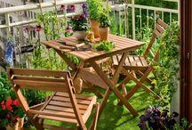 Bahçe balkon