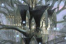 Elven cities