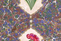 Ebru ve Kaat'ı Sanatı - Ahmet ERECEK / Ebru (Marbling) ve Kaat'ı (Paper Cutting)