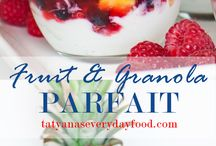 Parfait & Smoothie recipes