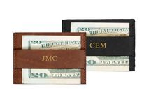 LEATHER CARD AND CASH WALLET / by DODOcase