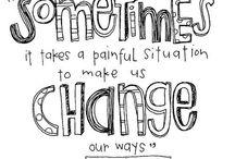 Positive messages / by Vanessa Vazquez