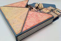 Tarjetas y sobres scrap