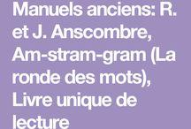 Manuels anciens Français