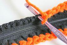 Zipper crochet
