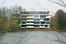 modern appartementengebouw