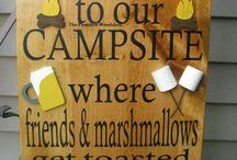 Camping stuff / by Cheri Thornhill