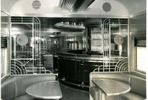 Train restaurant design