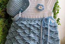 Abbigliamento crochet baby