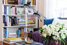 decorate: books / by Ellie Lucash