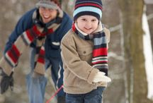 Snow Day Activities / Here are some creative ideas for indoor and outdoor activities, games and crafts to keep children active, safe and having fun during school snow days!