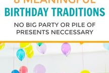 birthday & cakes