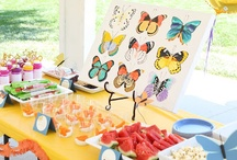 Hungry caterpillars, rainbow butterflies / Combined birthday ideas for toddler and youth...