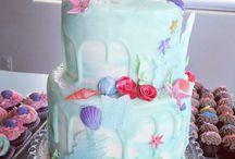 Mermaid theme birthday