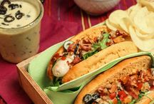 Hotdogs, Burger, Streetfood