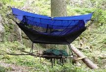 Camping Without a Tent / Ideas for camping without a tent such as a bivy sack, hammock tent or bivy shelter. Great for outdoor activities such as overnight kayaking, bicycle touring or wilderness camping.