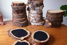 Wood slices arts & crafts