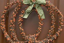 Wreaths and More Wreaths / by Carolynn Kinser