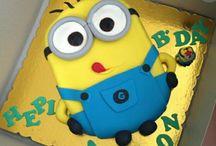 Fun cake / Des gateaux d'anniv sympas