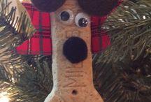 Julepynt hund