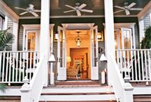 """Build Our Home-Porch / Our first home will be our last. A one-story farmhouse on a few acres. We plan on doing it right and doing it up to our standards. These """"Build Our Home"""" Boards are real ideas and inspiration."""
