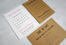Save the Date cards / Announce your wedding date in advance with a Save the Date card.