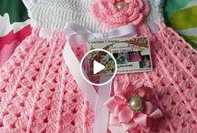 Videos de Roupas de Crochê