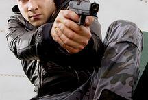 action Pose ,gun ,shooting