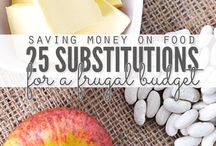 ♡ Frugal Living: Food ♡ / Health, Wellbeing & Lifestyle Frugality; is the quality of being frugal, sparing, thrifty, prudent or economical in the consumption of consumable resources such as food, time or money, and avoiding waste, lavishes or extravagance.