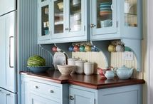 Painted Kitchen Cabinets / by YouAreTalkingTooMuch.com Blog