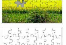 puzzle šablóny