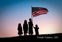 Summer Holidays American flag