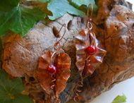 Folksy copper jewellery