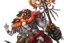 Summons / Primal, Archaean, Guardian Force, Esper, Celestial Avatar, Eidolon, Aeon, Holy Beast