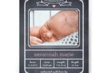 Hello Baby! / Our favorite birth announcements!