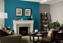 Paint feature walls