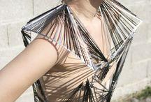 Architectural fashion / Alta costura, moda y arquitectura, diseño de moda arquitectonico