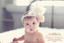 Enchanted Shimmer / Gorgeous head bows for the little princess in your life.