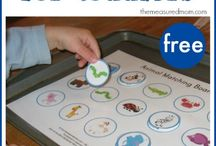 Teaching toddlers / worksheets and ideas for English lessons