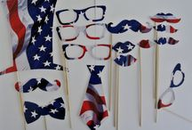 American themed party