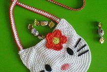 Crochet Bolsos y Carteras / Patrones
