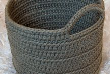 crochet big basket