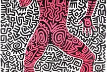 Pop art keith haring