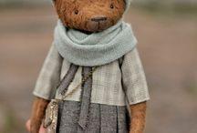 Teddi bear / Мишки и их друзья