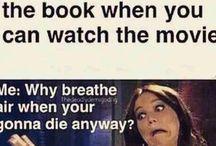BOOKS!! / Nothing beats books