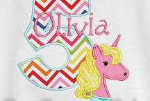 Unicorn Birthday Shirts