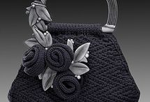 Knit it  - Handbags and Household / They don't really go together, but it has a nice ring to it!  Bags, cushions, dishcloths, bedspreads, throws, etc.