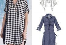 Shirt Dresses to Sew