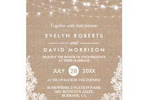 Wedding invitations, DIY ++