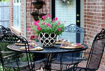 Pin Your Way To A Perfect Patio / by Rebecca H.
